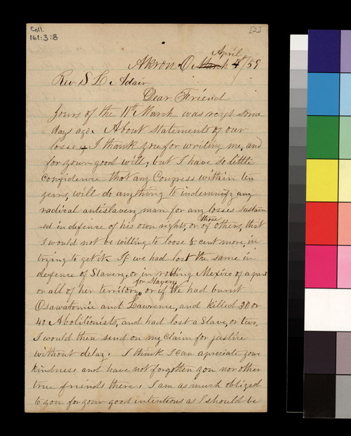 Jason Brown to Samuel L. Adair - Page