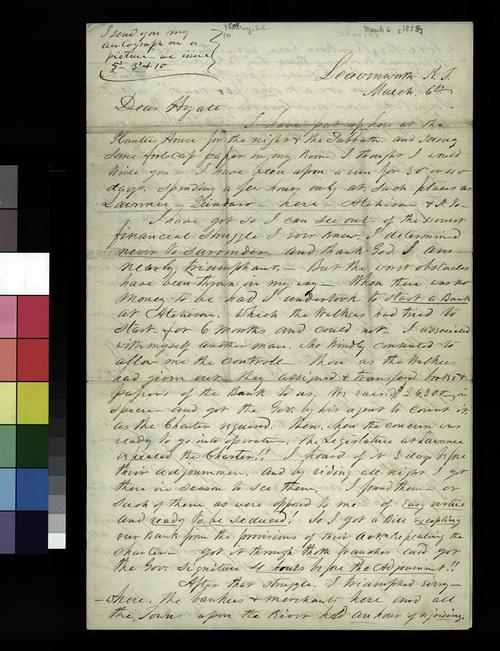 Samuel C. Pomeroy to Thaddeus Hyatt - Page
