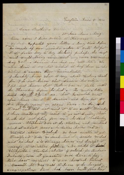 Martha L. Davis to Samuel and Florella Adair - Page