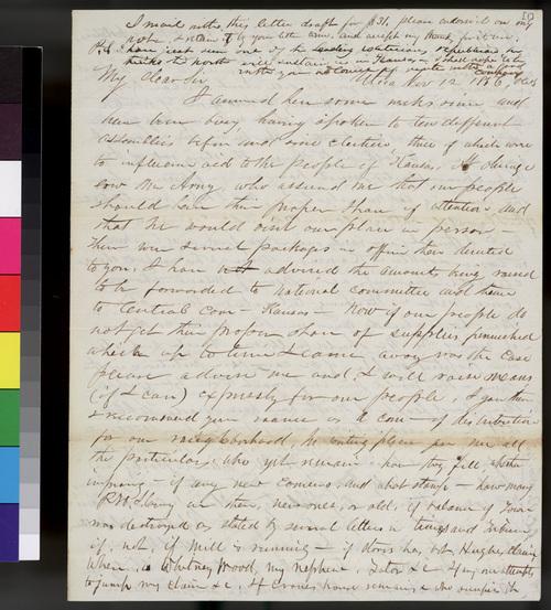 Orville C. Brown to Samuel L. Adair - Page