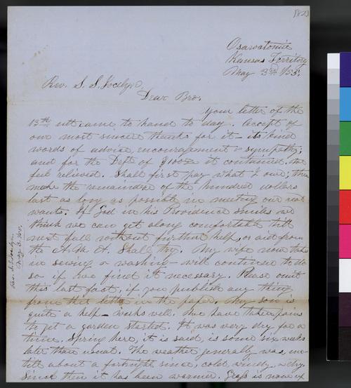 Samuel L. Adair to S. S. Jocelyn - Page