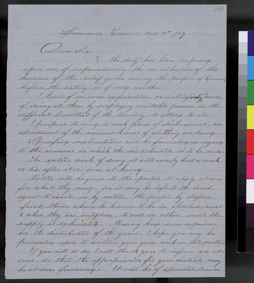 Edmund Burke Whitman to Samuel L. Adair - Page