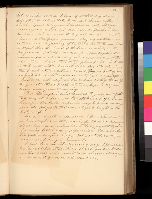 Samuel Lyle Adair's diary, 1854-1861 - Page