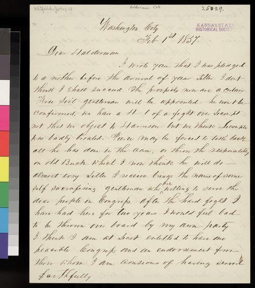 John W. Whitfield to John A. Halderman - Page