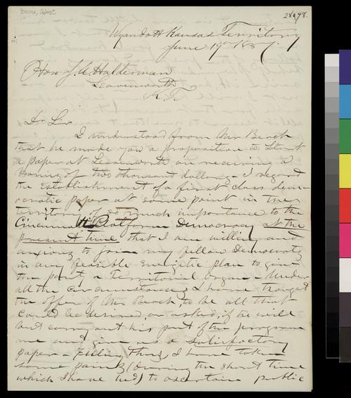 Alson C. Davis to John A. Halderman - Page