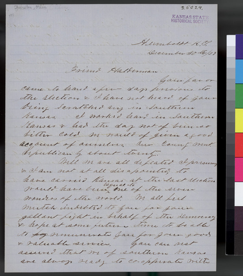 Olin Thurston to John A. Halderman - Page