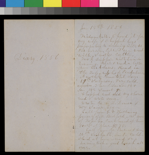 Isaac Goodnow diaries - Page