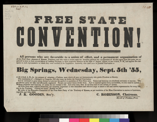 Election of delegates to the Free State Convention - Page