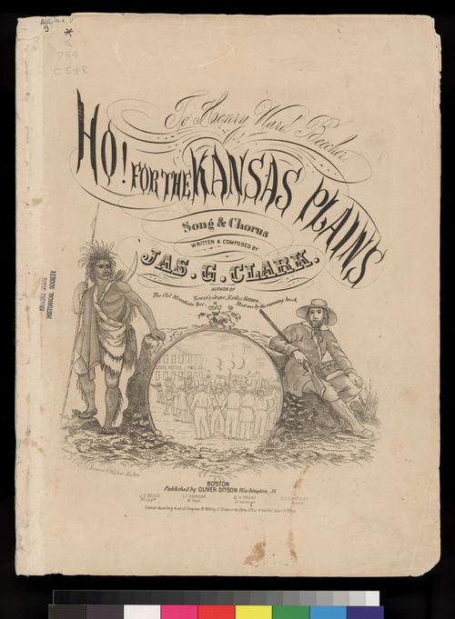 Ho! For The Kansas Plains - Page