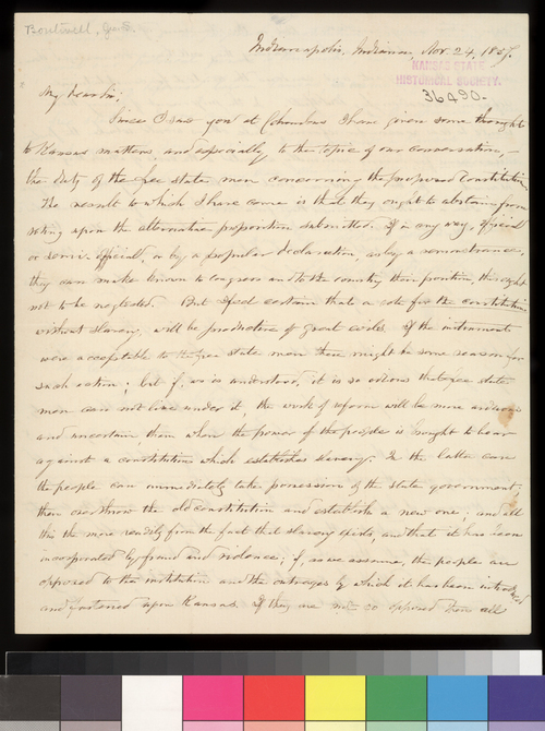 George S. Boutwell to Salmon P. Chase, Governor of Ohio - Page