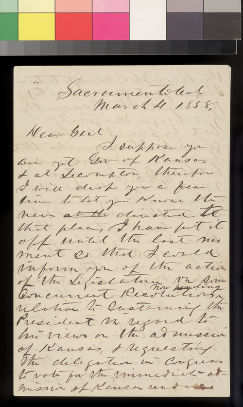 John P. Vaughn to James W. Denver - Page