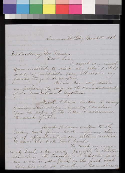James H. Noteware to James W. Denver - Page