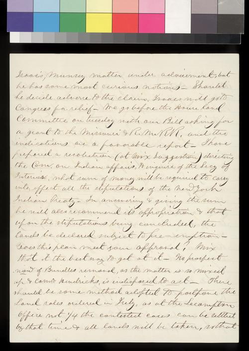 Robert S. Stevens to James W. Denver - Page