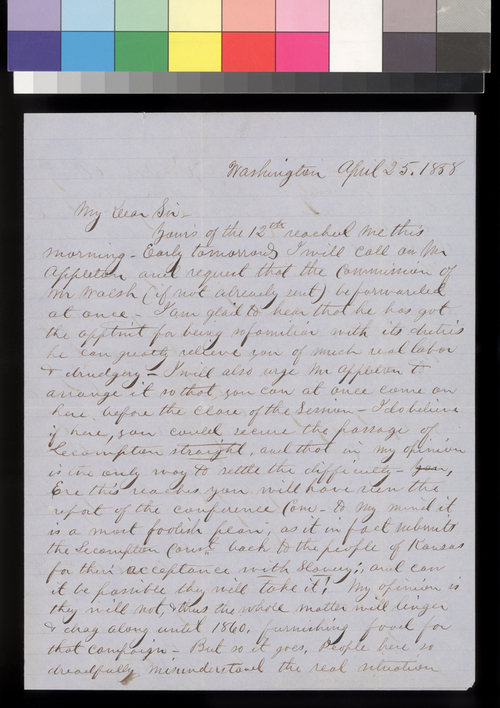 Robert S. Stevens to James W. Denver - Page