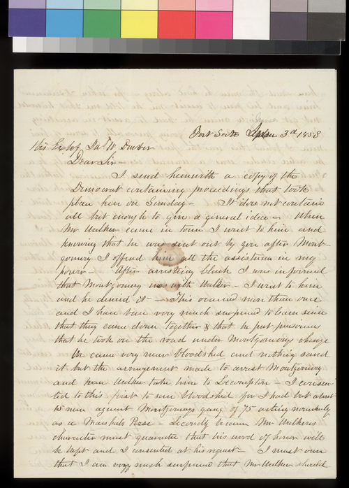 H. P. A. Smith to James W. Denver - Page