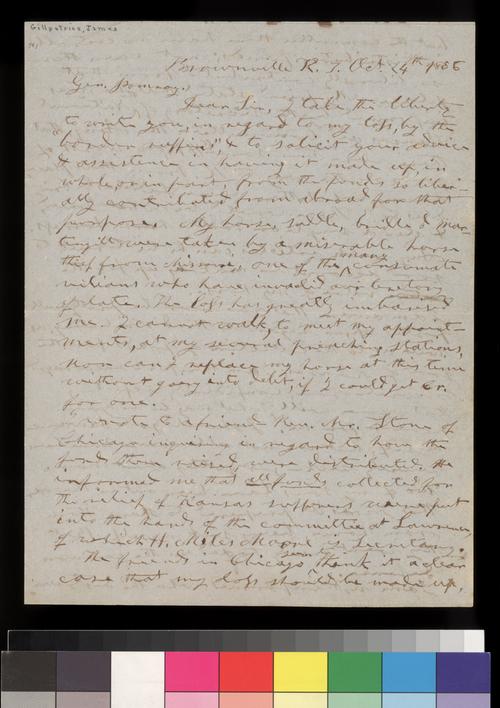 James Gillpatrick to Samuel C. Pomeroy - Page