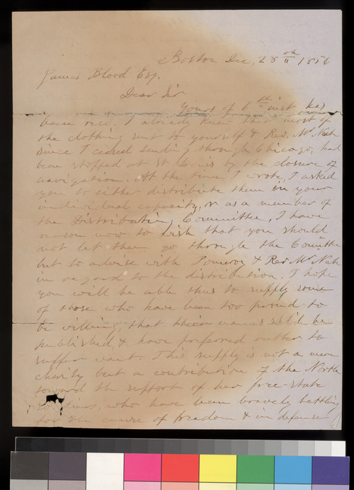 Samuel Cabot, Jr. to James Blood - Page