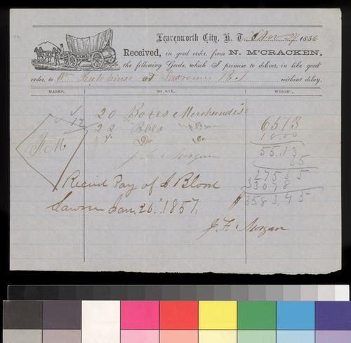 N. M'Cracken to William Hutchinson - Page