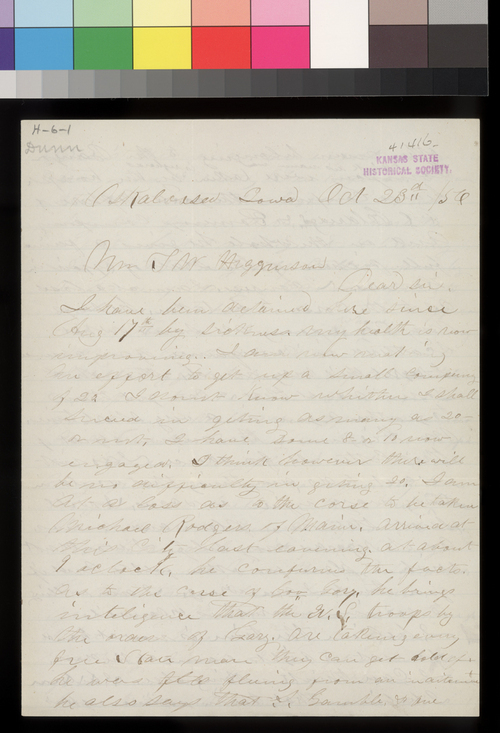 Dunn to Thomas W. Higginson - Page