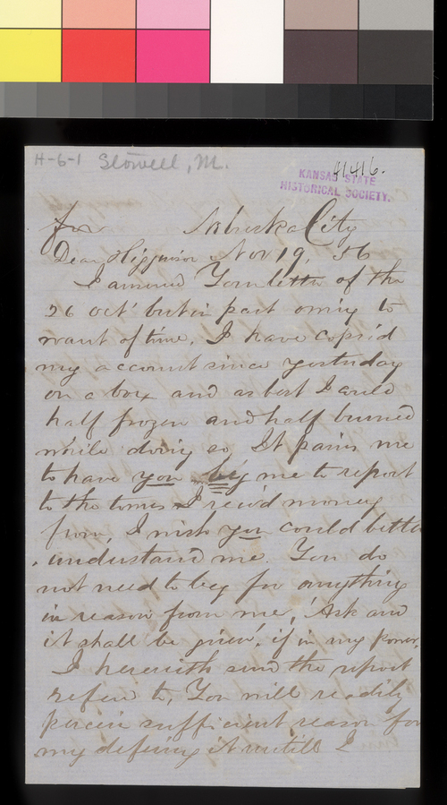 Martin Stowell to Thomas W. Higginson - Page