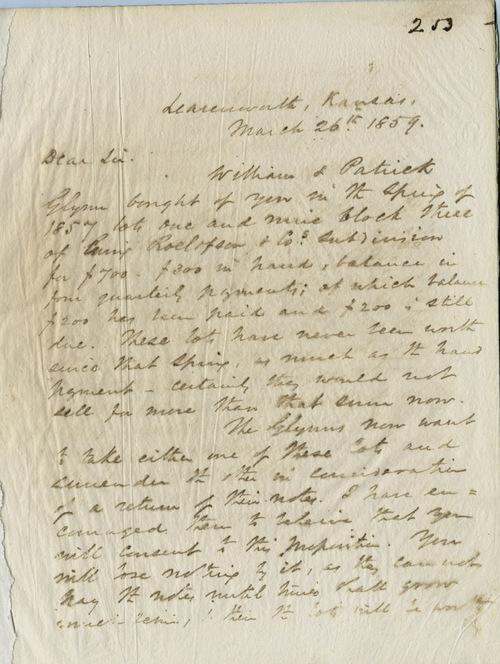 Thomas Ewing Jr. to William F. Roelofson - Page