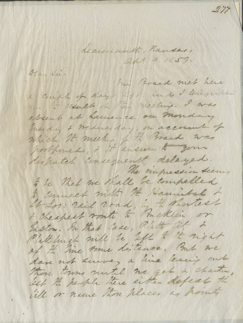 Thomas Ewing Jr. to E. Peabody - Page