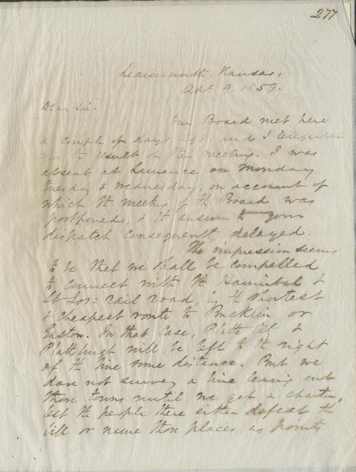 Thomas Ewing Jr. to E. Peabody - Page