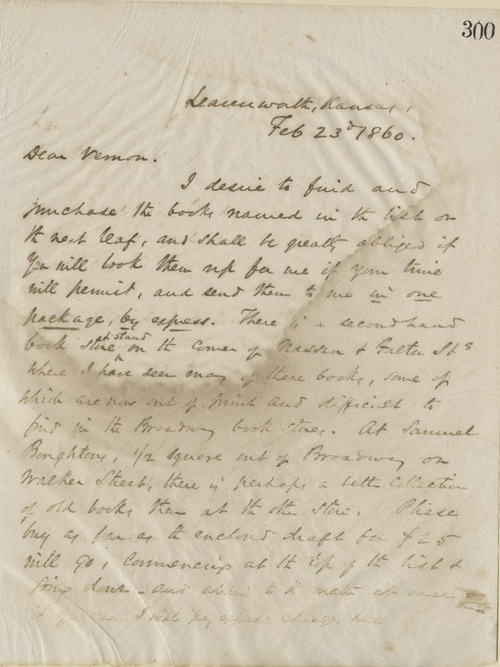 Thomas Ewing, Jr., to Thomas Vernon - Page