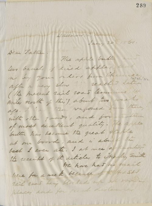 Thomas Ewing, Jr.,  to Thomas Ewing, Sr. - Page