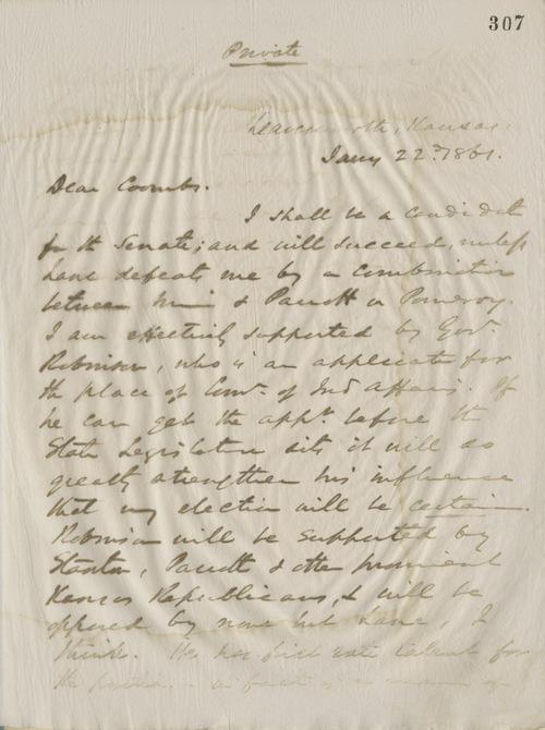 Thomas Ewing, Jr.,  to Joseph J. Coombs - Page