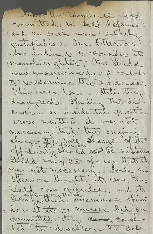 John F. King to Thomas Ewing, Jr. - Page