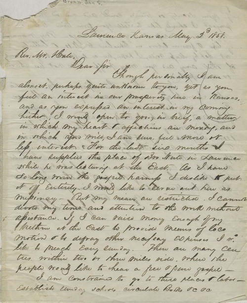 John S. Brown to Edward Everett Hale - Page