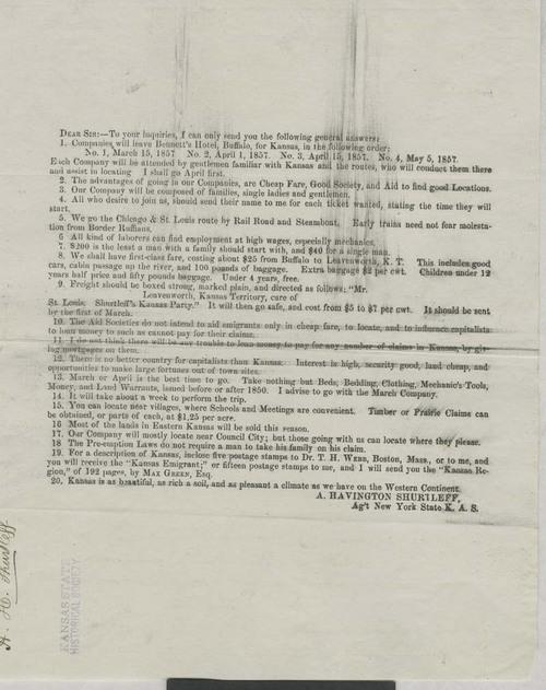 New York State Kansas Aid Society - Page