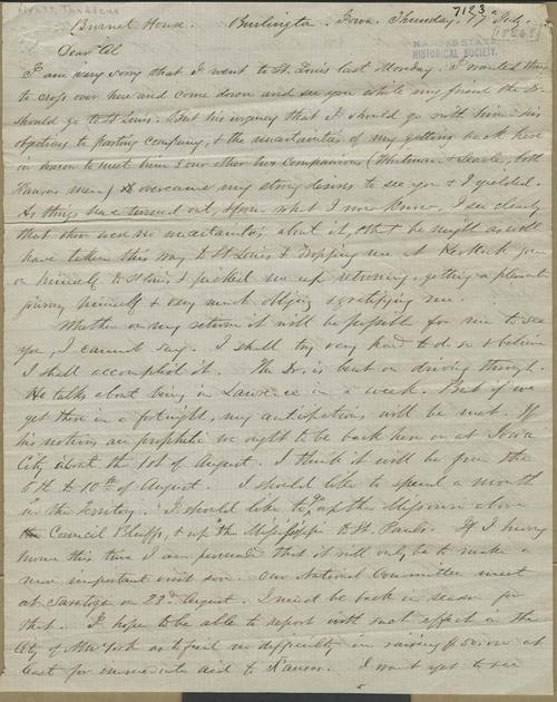 Thaddeus Hyatt to A.L. Winans - Page