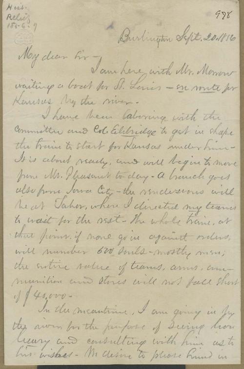 James M. Winchell to Thaddeus Hyatt - Page