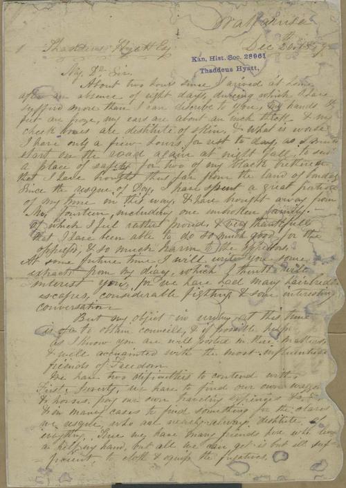 John E. Stewart to Thaddeus Hyatt - Page