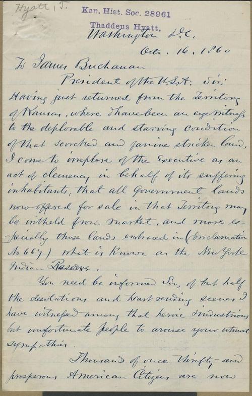 Thaddeus Hyatt to James Buchanan - Page