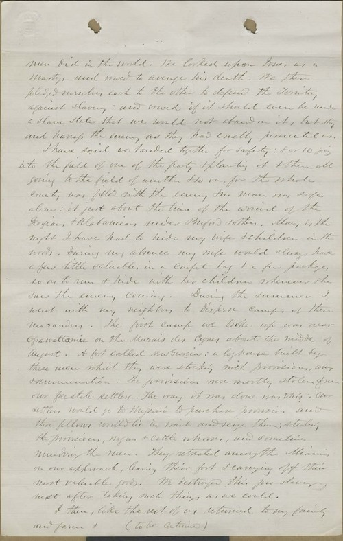 Thomas Bedoe, testimony - Page