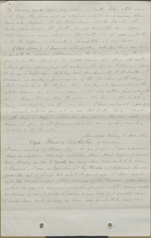Thomas Bickerton testimony - Page