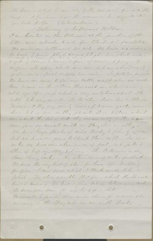 James H. Holmes, testimony - Page