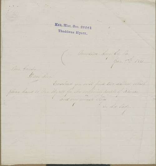 Unknown to Horace Greeley - Page