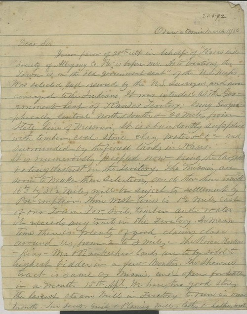 Orville Chester Brown to Edward Allen - Page