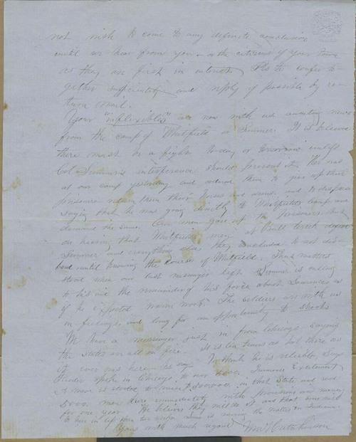 William B. Hutchinson to Cyrus Kurtz Holliday - Page