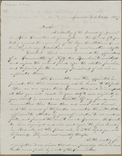 William Hutchinson to Cyrus Kurtz Holliday - Page
