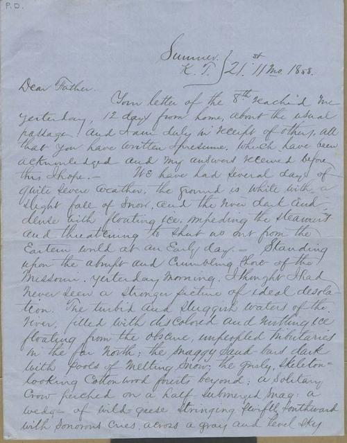 John James Ingalls to Elias T. Ingalls