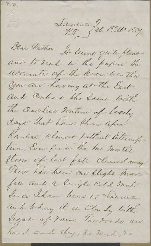John James Ingalls to Elias T. Ingalls - Page