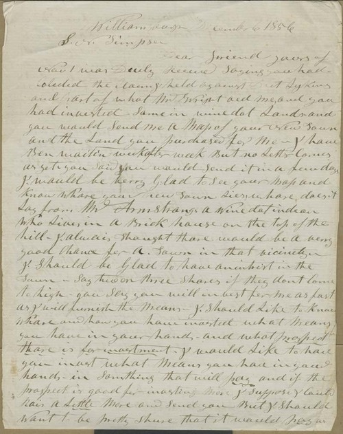 Hiram Hill to Samuel Newell Simpson - Page