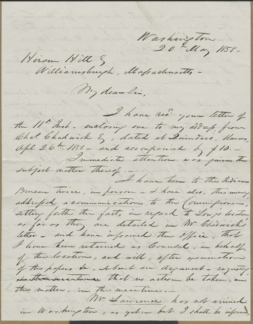 Nathaniel Pope Causin to Hiram Hill - Page