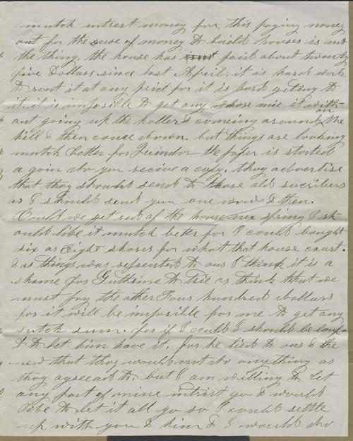 Albert C. Morton to Hiram Hill - Page