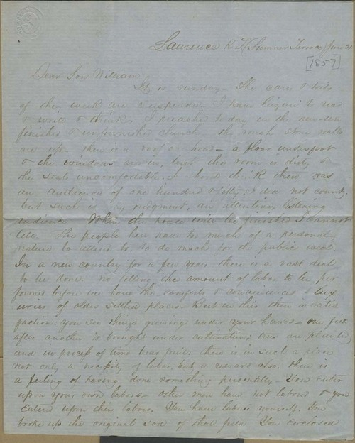 John Stillman Brown to William Brown - Page